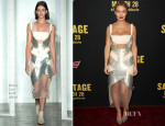 Lara Bingle In Dion Lee - 'Sabotage' LA Premiere