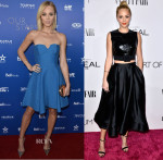 Laura Vandervoort In Laura Vandervoort In Halston Heritage & Paule Ka - Canada's Stars Of the Awards Season & Vanity Fair Campaign Hollywood Event