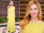 Leslie Mann In Jenny Packham - Vanity Fair Oscar Party 2014