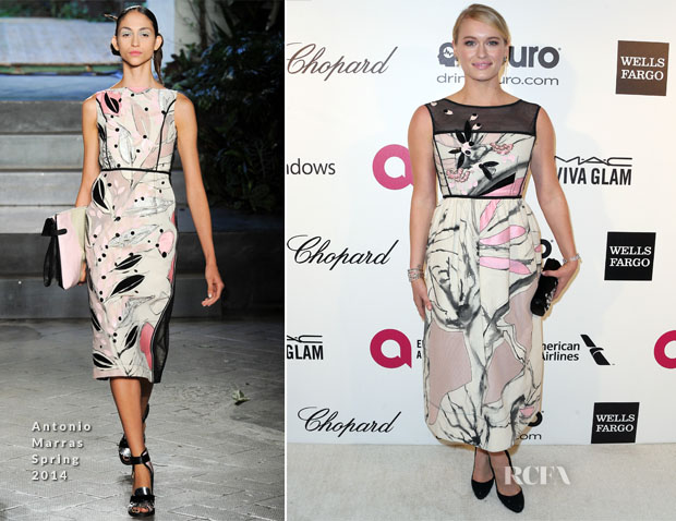Leven Rambin In Antonio Marras - Elton John AIDS Foundation Oscar Party