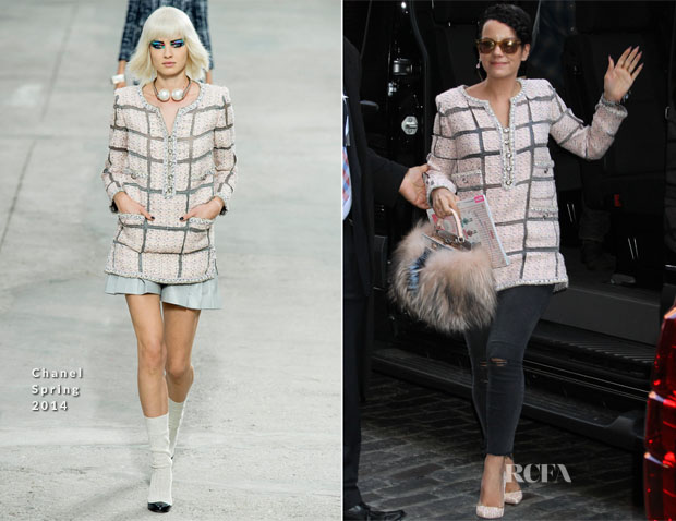 Lily Allen In Chanel - Out In New York City