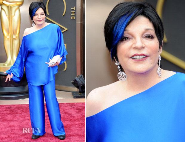 Liza Minnelli In Vintage Halston - Oscars 2014