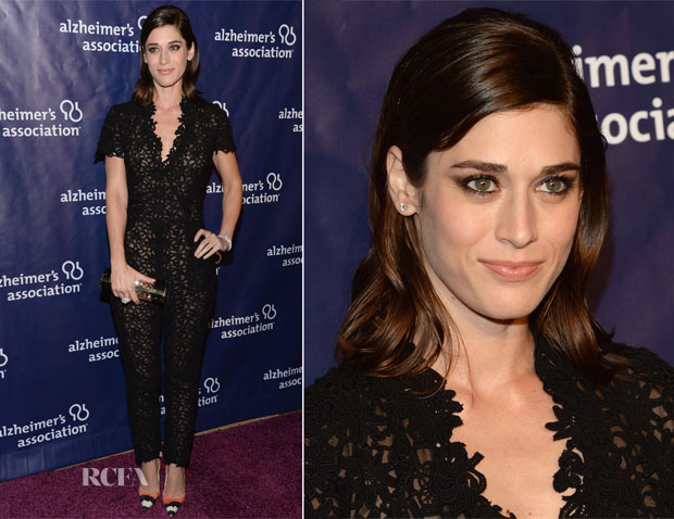 Lizzy Caplan In Houghton - 22nd A Night At Sardi's
