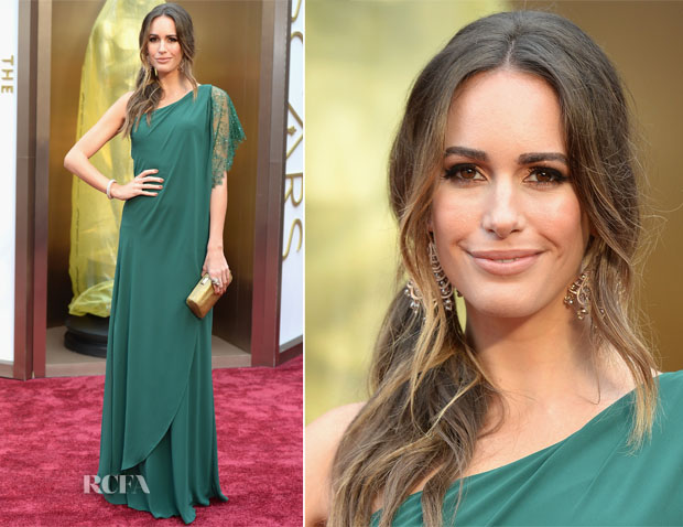 Louise Roe In Pronovias - Oscars 2014