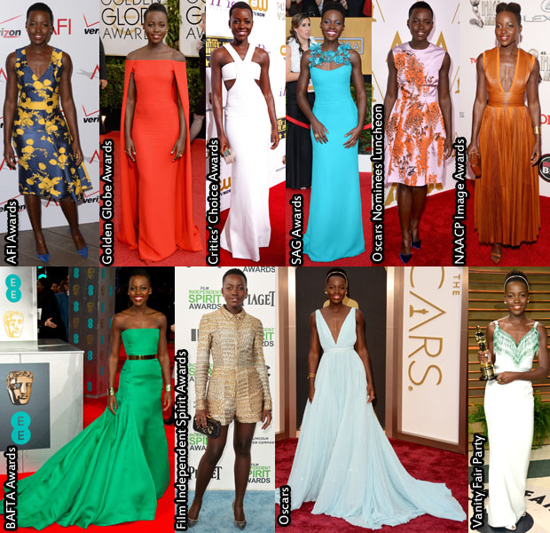 Lupita Awards Season 2014