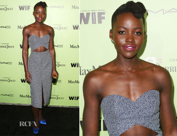 Lupita Nyong'o In Michael Kors - Women In Film Pre-Oscar Cocktail Party