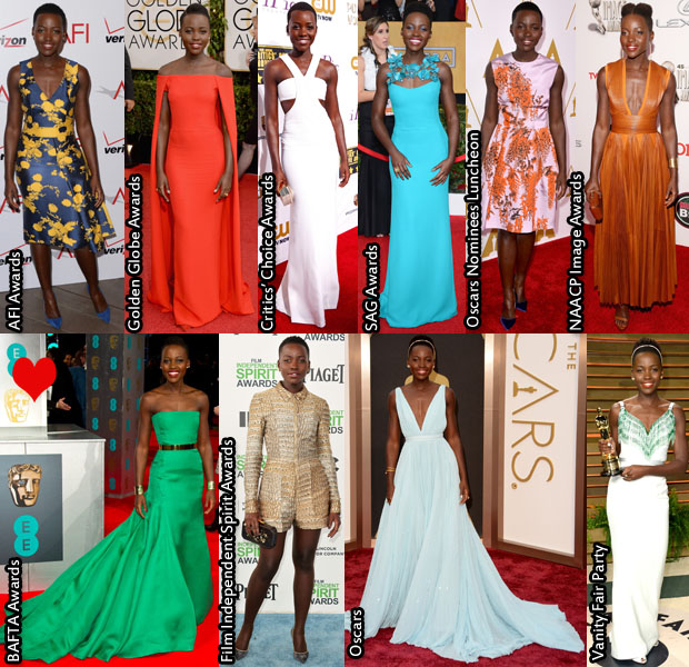 Lupita Nyong'o Awards Season
