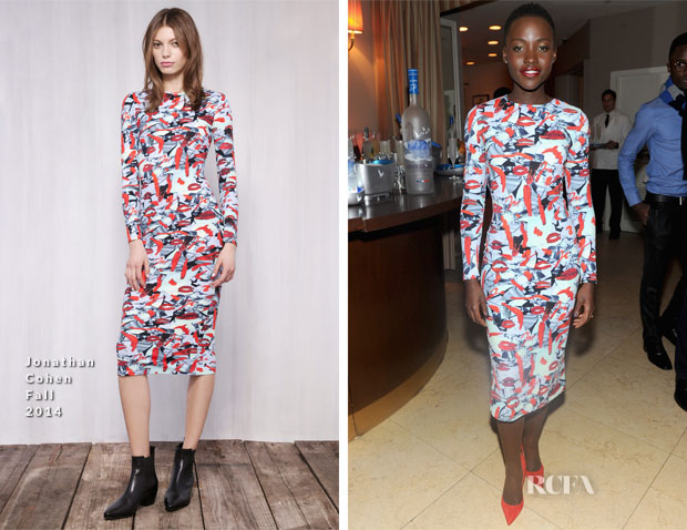 Lupita Nyong'o In Jonathan Cohen - GREY GOOSE Presents 12 Years A Slave Dinner