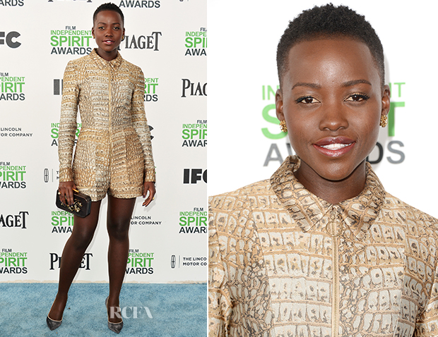 Lupita Nyong'o In Stella McCartney - Film Independent Spirit Awards 2014