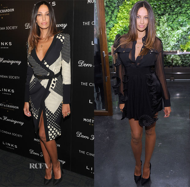 Madalina Diana Ghenea In Emanuel Ungaro - 'Dom Hemingway' New York Screening and After-Party