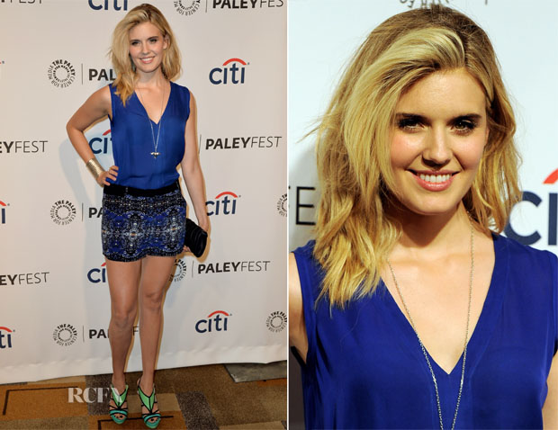 Maggie Grace In ALC - PaleyFest 2014 Honouring 'Lost' 10th Anniversary Reunion