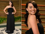 Margot Robbie In Saint Laurent - Vanity Fair Oscar Party 2014