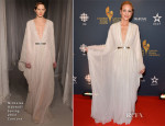 Maria Bello In Nicholas Oakwell Couture - Canadian Screen Awards