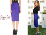 Maria Menounos' L'Wren Scott Pencil Skirt