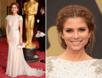 Maria Menounos In Johanna Johnson - Oscars 2014