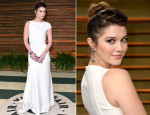 Mary Elizabeth Winstead In Vionnet - Vanity Fair Oscar Party 2014