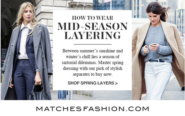 Matches Spring Layering