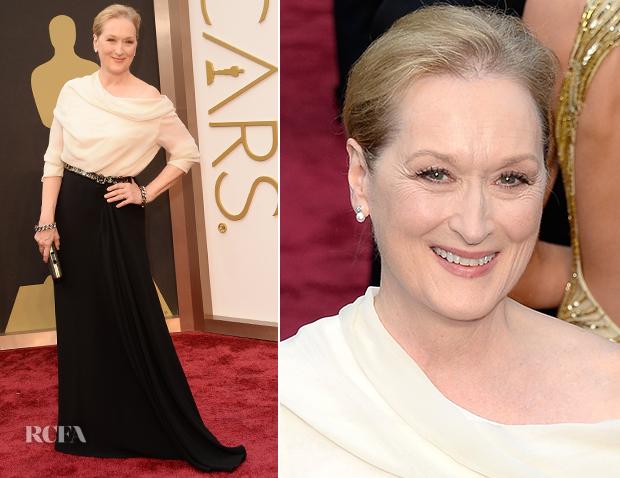 Meryl Streep In Lanvin - Oscars 2014