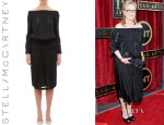 Meryl Streep's Stella McCartney Off-The-Shoulder Dress