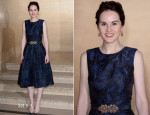Michelle Dockery In Oscar de la Renta - Changing Faces Gala Dinner