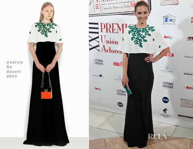 Michelle Jenner In Andrew Gn - 23rd Union de Actores Awards