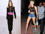 Miley Cyrus In Maison Martin Margiela  -  Cameo Nightclub