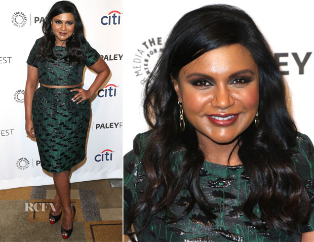 Mindy Kaling In Topshop - PaleyFest 2014 Honouring 'The Mindy Project'