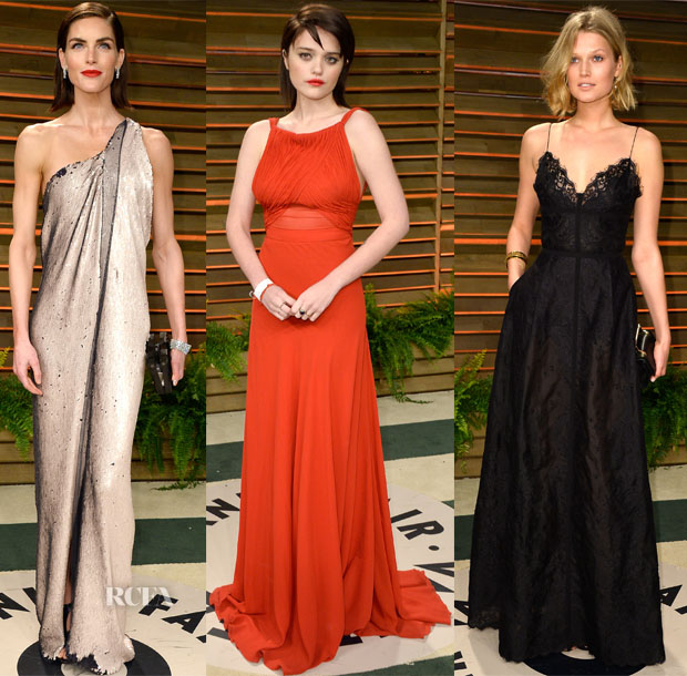 Models @ The Vanity Fair Oscar Party 2014 2