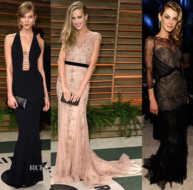 Models @ The Vanity Fair Oscar Party 2014 3