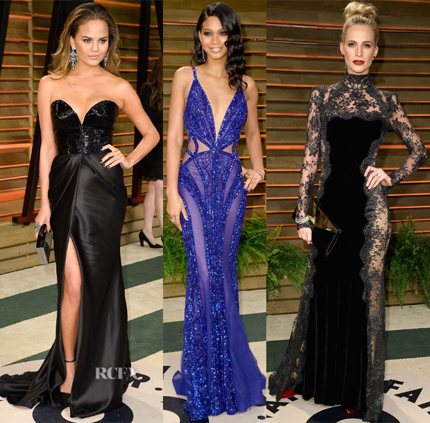 Models @ The Vanity Fair Oscar Party 2014