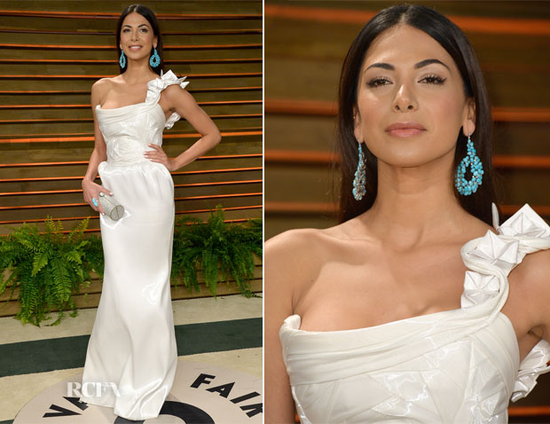 Moran Atias In Tony Ward Couture - Vanity Fair Oscar Party 2014