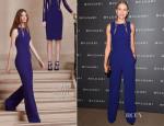 Naomi Watts In Elie Saab - BVLGARI LVCEA Unveiling