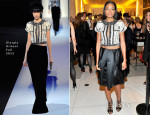 Naomie Harris In Giorgio Armani - Giorgio Armani Celebrates Martin Scorsese And Paolo Sorrentino