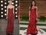 Naomie Harris In Naeem Khan - Vanity Fair Oscar Party 2014