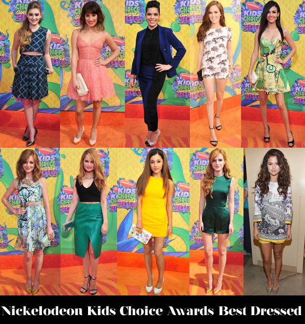 Nickelodeon'Kids' Choice Awards Best Dressed