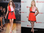 Nicola Peltz In Fausto Puglisi - 'Off and Running' Opening Night Studio Presentation