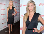 Nicola Peltz In Saint Laurent - CinemaCon 2014: The CinemaCon Big Screen Achievement Awards
