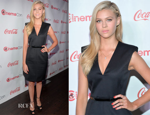 Nicola Peltz In Saint Laurent - CinemaCon 2014 The CinemaCon Big Screen Achievement Awards