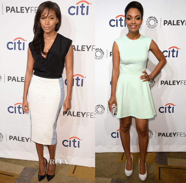 Nicole Beharie and Lyndie Greenwood - PaleyFest 2014 Honoring 'Sleepy Hollow'