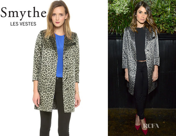Nikki Reed's SMYTHE 'Lab' Coat