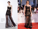 Norma Ruiz In Ermanno Scervino - Malaga Film Festival 2014 Closing Ceremony