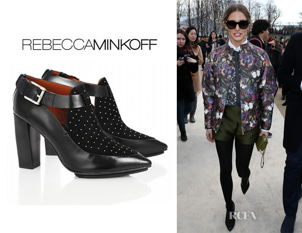 Olivia Palermo's Rebecca Minkoff 'Gio Too' Studded Booties