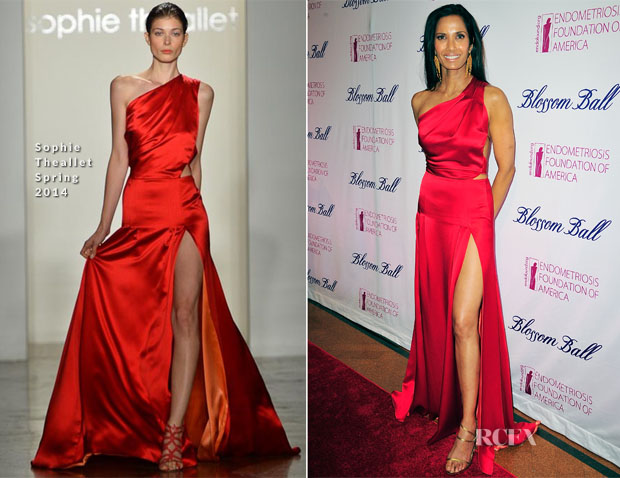 Padma Lakshmi In Sophie Theallet - 6th Annual Blossom Ball
