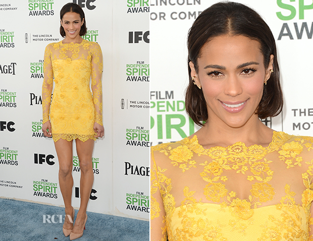 Paula Patton In Lorena Sarbu - Film Independent Spirit Awards 2014