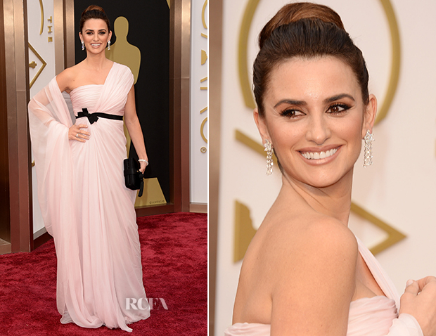 Penélope Cruz In Giambattista Valli Couture - Oscars 2014