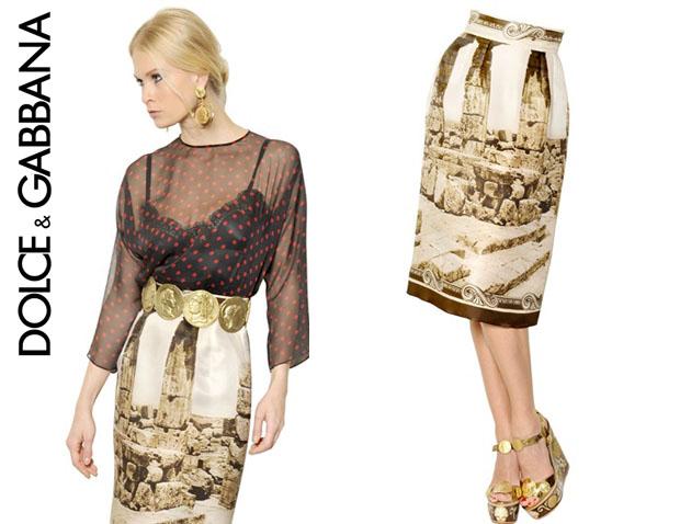 Poppy Delevigne Dolce & Gabbana