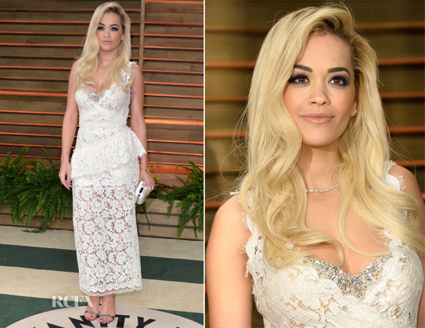 Rita Ora In Miu Miu - Vanity Fair Oscar Party 2014