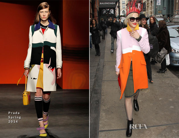Rita Ora In Prada - Out In New York City