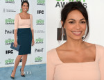 Rosario Dawson In Narciso Rodriguez - Film Independent Spirit Awards 2014