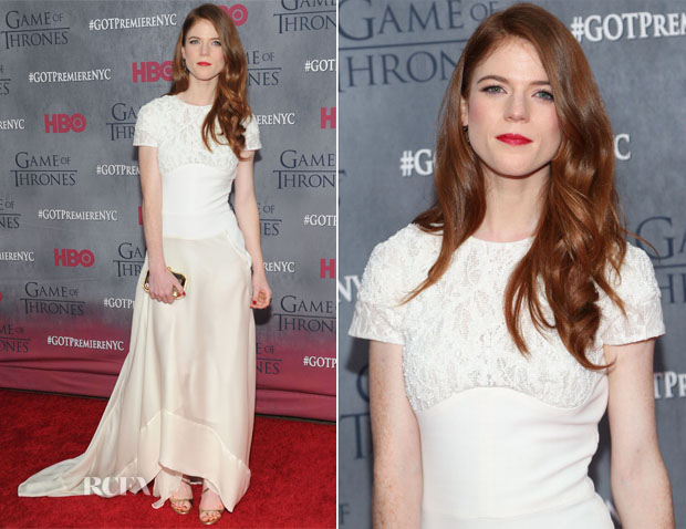 Rose Leslie in Antonio Berardi - 'Game Of Thrones' Season 4
